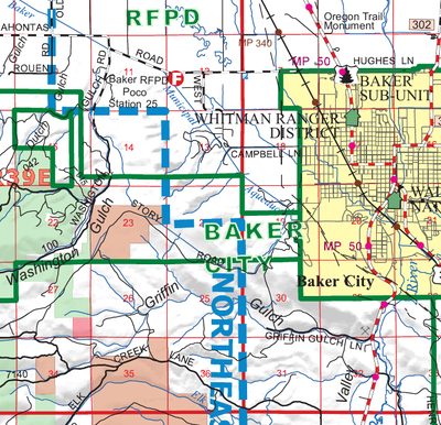 Blue Mountain Interagency Dispatch Center on